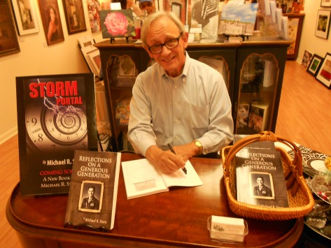 Michael Stern - First book signing -